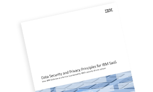 Data Security and Privacy Principles for IBM SaaS (PDF, 603.7KB)