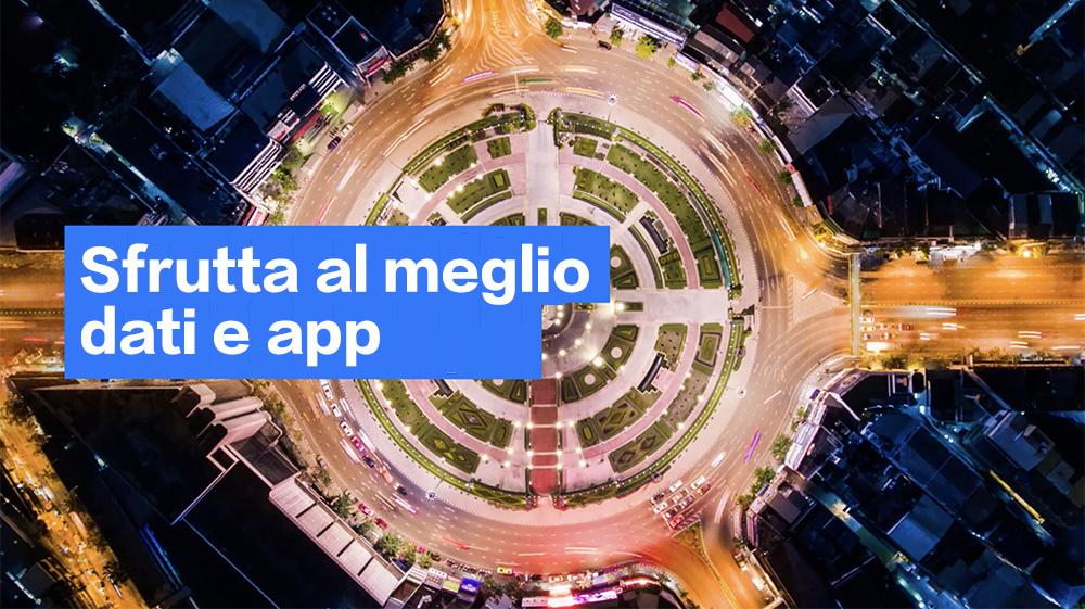 Foto generica, che rappresenta la capacità di utilizzare i dati nel cloud utilizzando soluzioni di integrazione e governance
