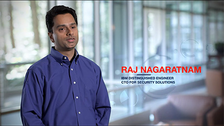Raj Nagaratnam discusses implementing cloud security with IBM Security Solutions.
