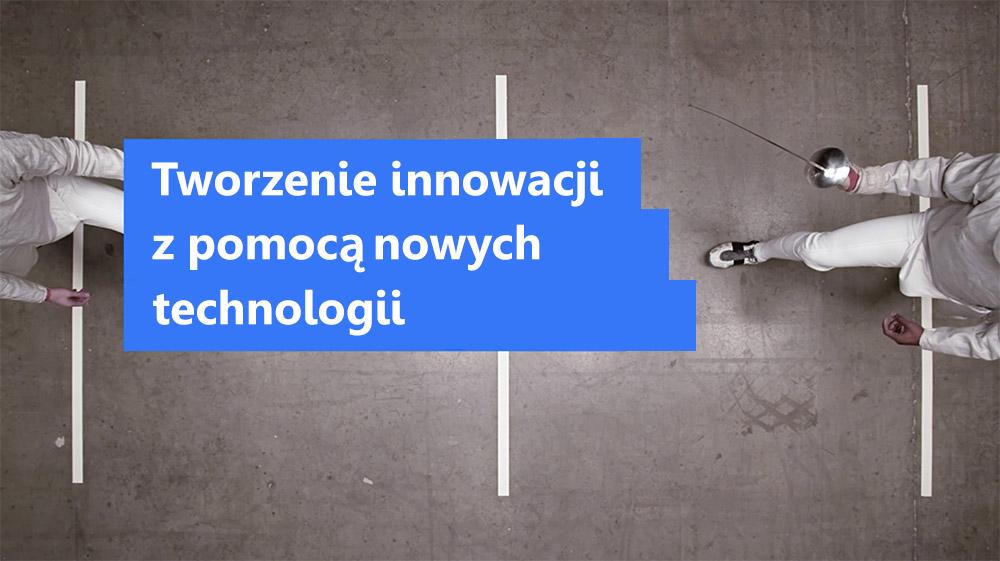 Zdjęcie przedstawiające możliwość tworzenia innowacji w ramach elastycznej, otwartej architektury chmury i dzięki nowym technologiom