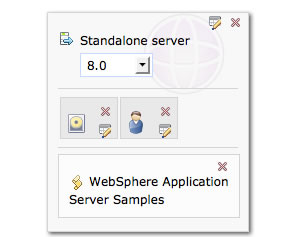 WebSphere Application Server Samples pattern