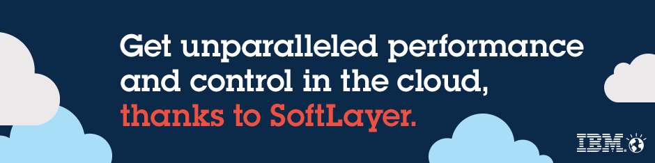 Image: Get unparalleled performance and control in the cloud, thanks to SoftLayer