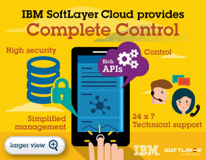 IBM SoftLayer Cloud provides Complete Control