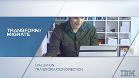 Watch Video: Transform / Migrate - Evaluation, Transformation and Direction