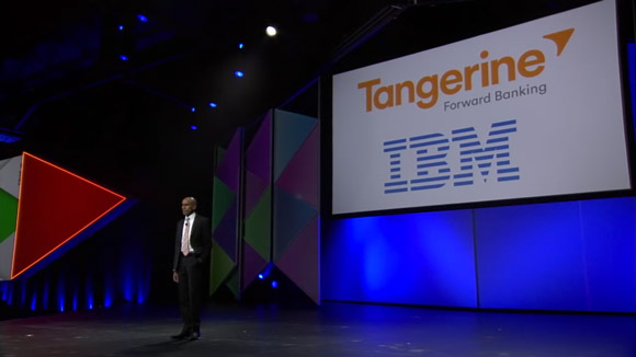 Tangerine Forward Banking IBM