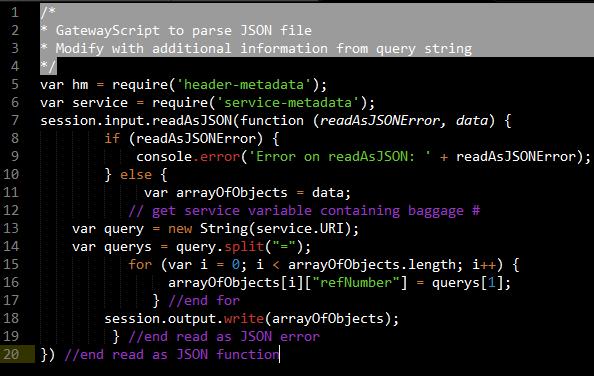SOA Use Case: Working with DataPower GatewayScript - IBM Garage