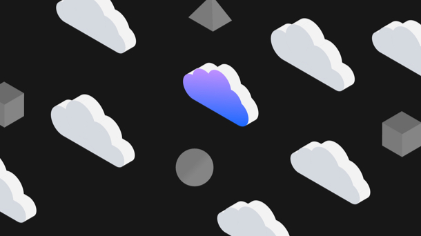 Clouds and shapes