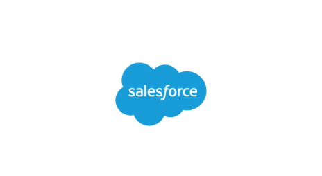 Coming in February, salesforce logo