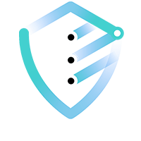 A minimalist blue and teal shield icon representing why IBM cloud solutions and their security-rich features.