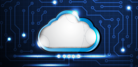 Image of cloud to represent IBM Cloud Pak for Automation.