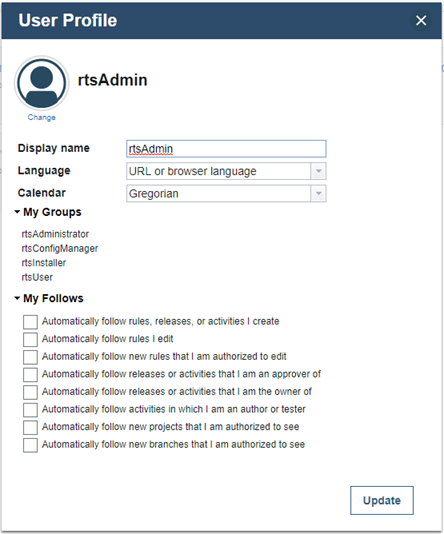 Checklist synchronization options
