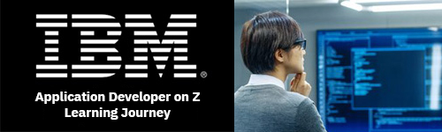 Application Developer on Z Learning Journey - No cost education offered by IBM to get started on a career track toward Application Development on Z.