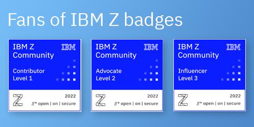 Fans of IBM Z Badges