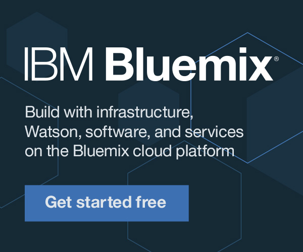 IBM Bluemix: A cloud platform for the world's ideas.  Start building for free.