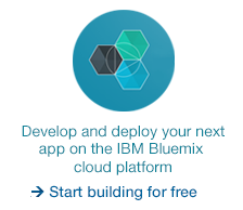 Develop and deploy your next app on the IBM Bluemix cloud platform.  Start building.