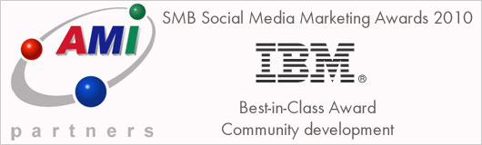 AMI Social Media Best-in-Class Award