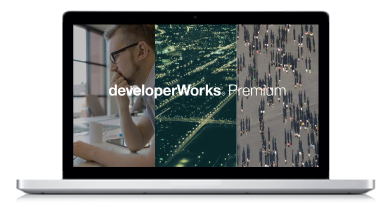 developerWorks Premium sunset image