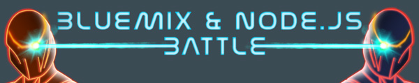 Bluemix and Node.js Battle