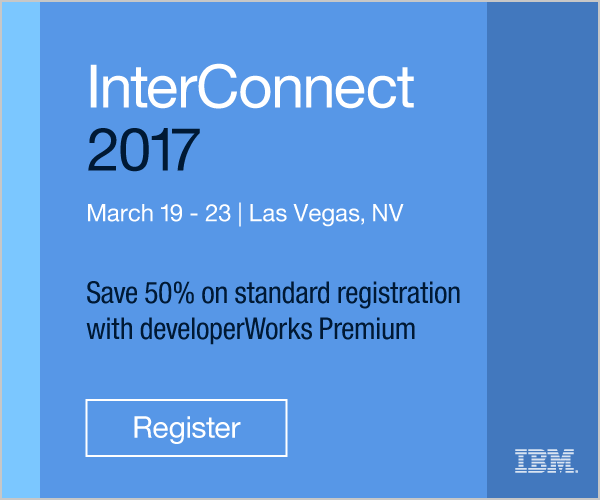 InterConnect 2017. March 19-23. MGM Grand &