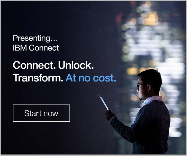 Presenting...IBM Connect. Connect. Unlock.