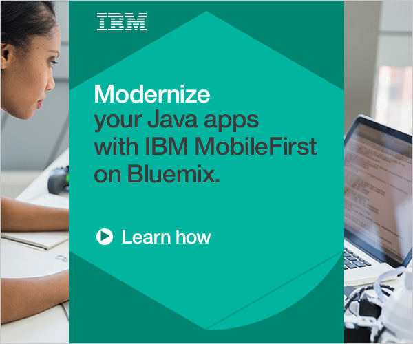 Modernize your Java apps with IBM MobileFirst on