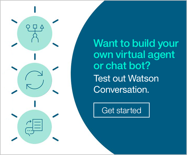 Want to build your own virtual agent or chat bot?