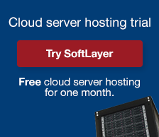 Cloud server hosting trial. Try SoftLayer. Free cloud server hosting for one month.