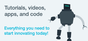 Tutorials, videos, apps, and code. Everything