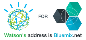 Watson for Bluemix.  Watson's address is