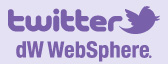 Follow developerWorks WebSphere on twitter