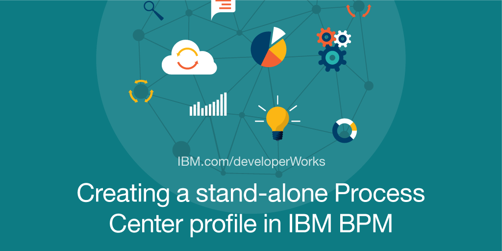 Creating a stand alone process center profile in ibm bpm part 1