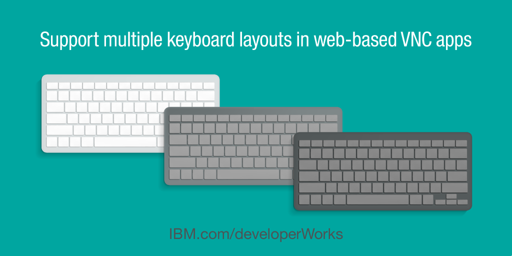 Support multiple keyboard layouts in web-based VNC apps