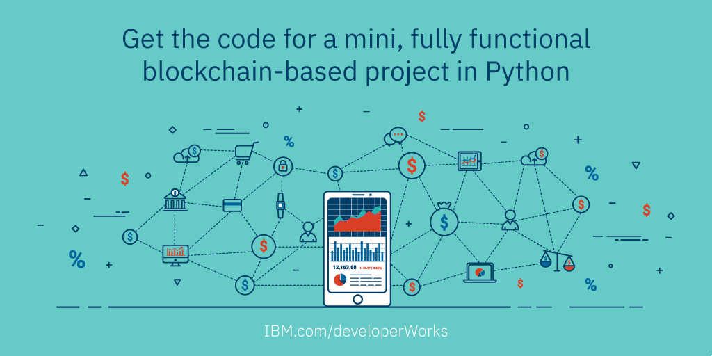 Develop a blockchain application from scratch in Python