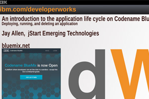 Video: Bluemix Application Life Cycle