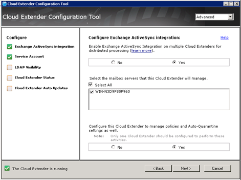 Hlavní produkt Cloud Extender v prostředích s více produkty Cloud ... 03fc9b799a