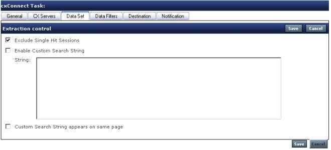 Data Set tab