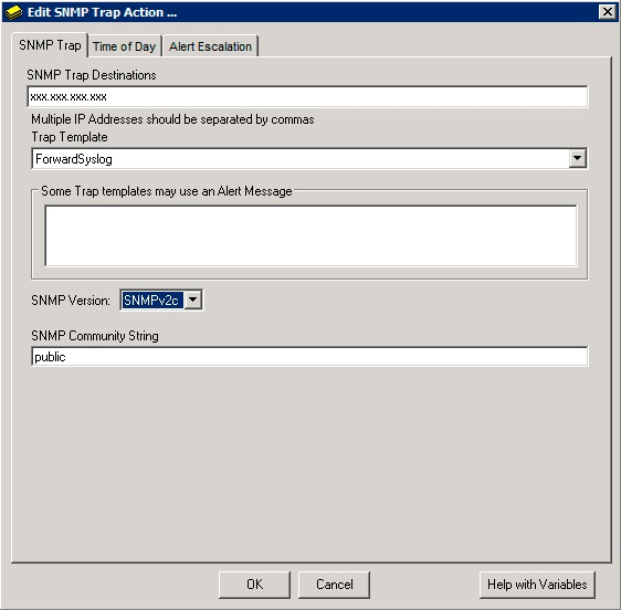 Configuring SolarWinds Orion to communicate with QRadar