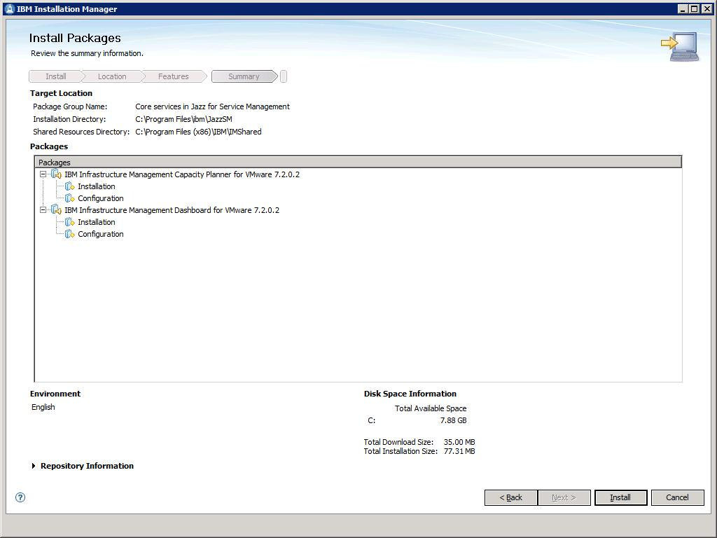VMware: Installing the Capacity Planner and the Dashboard