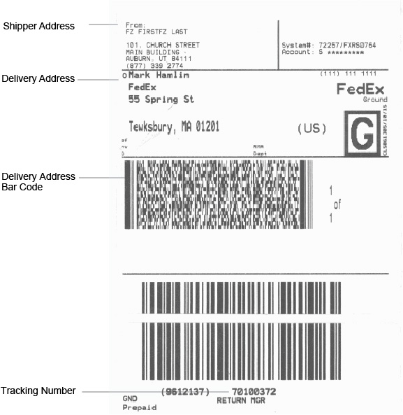 Fedex return shipping label pronofoot35fo Image collections