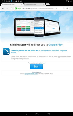 Enrolling your Android device (MDM)