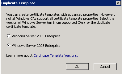 Configuring The Certificate Template On The Scep Server