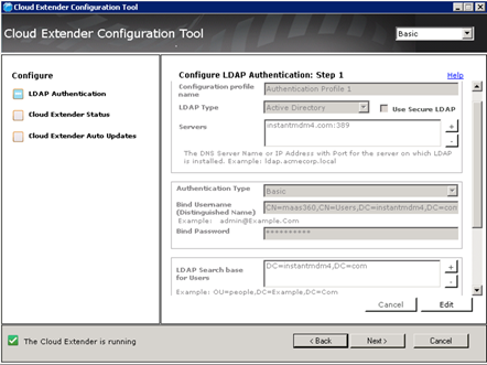 Configuring Basic Ldap Mode Settings For User Authentication