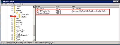 how to create string key in registry c
