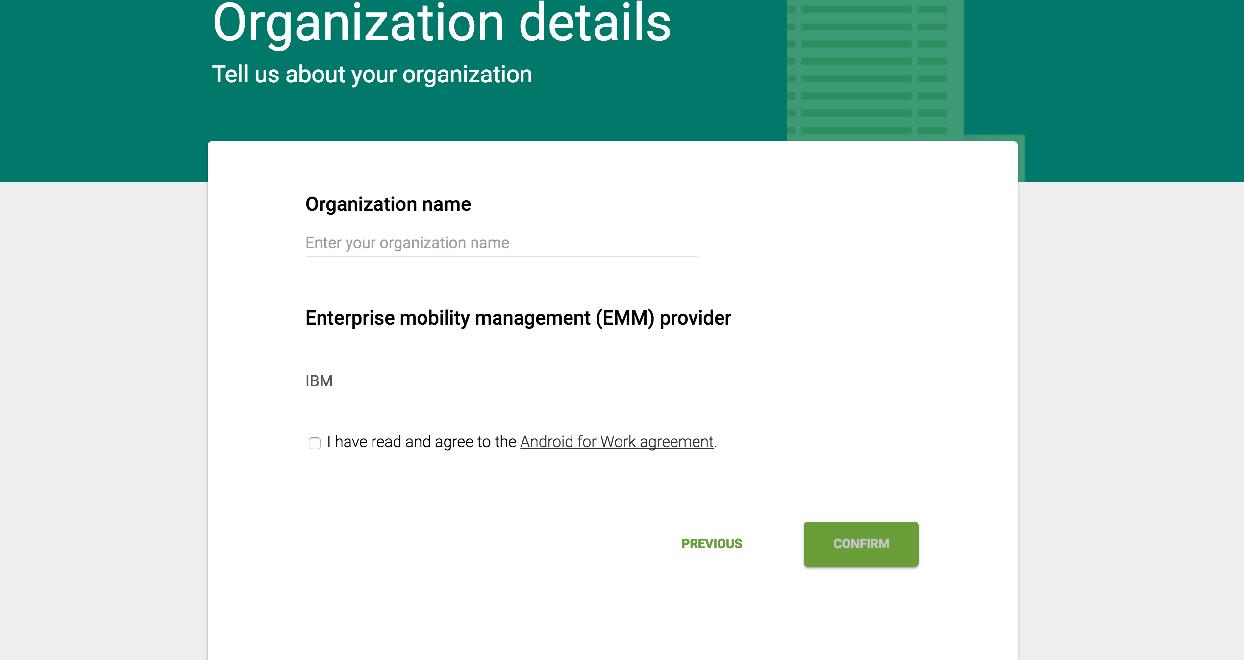 Configuring MaaS360 integration with Android Enterprise