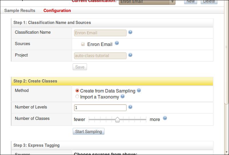 Step 2: Create Classes