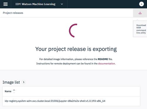 Export release