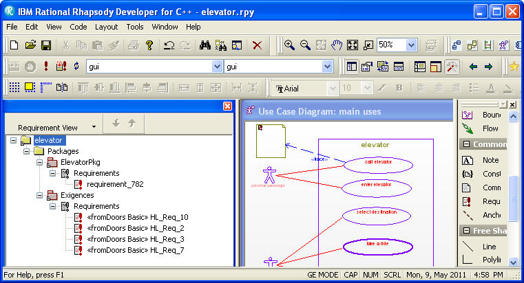converter  sc 1 st  IBM & Lesson 4: Importing requirements from Rhapsody into DOORS