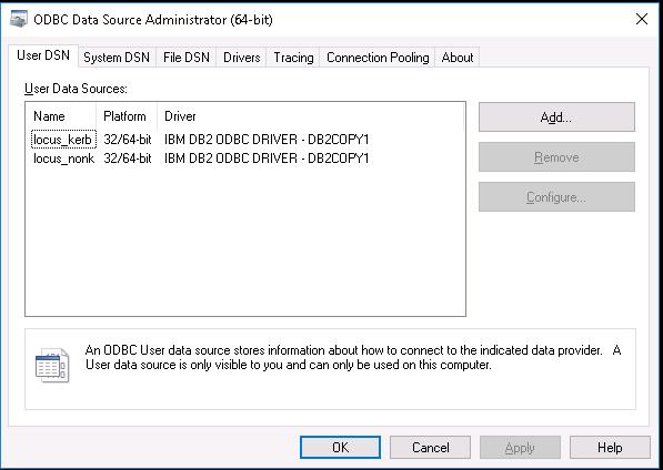 Configuring ODBC clients for Kerberos client authentication