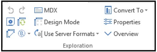 Exploration Views and lists