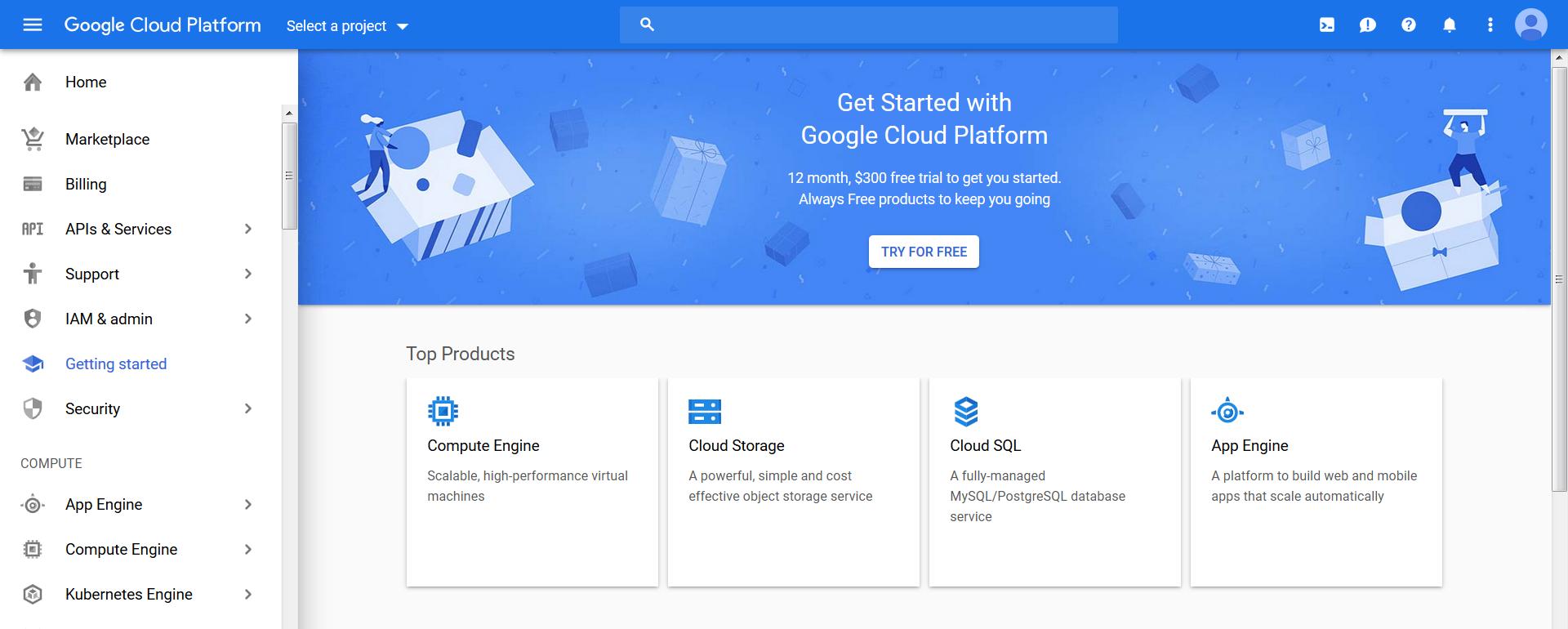 Migration to Google Cloud